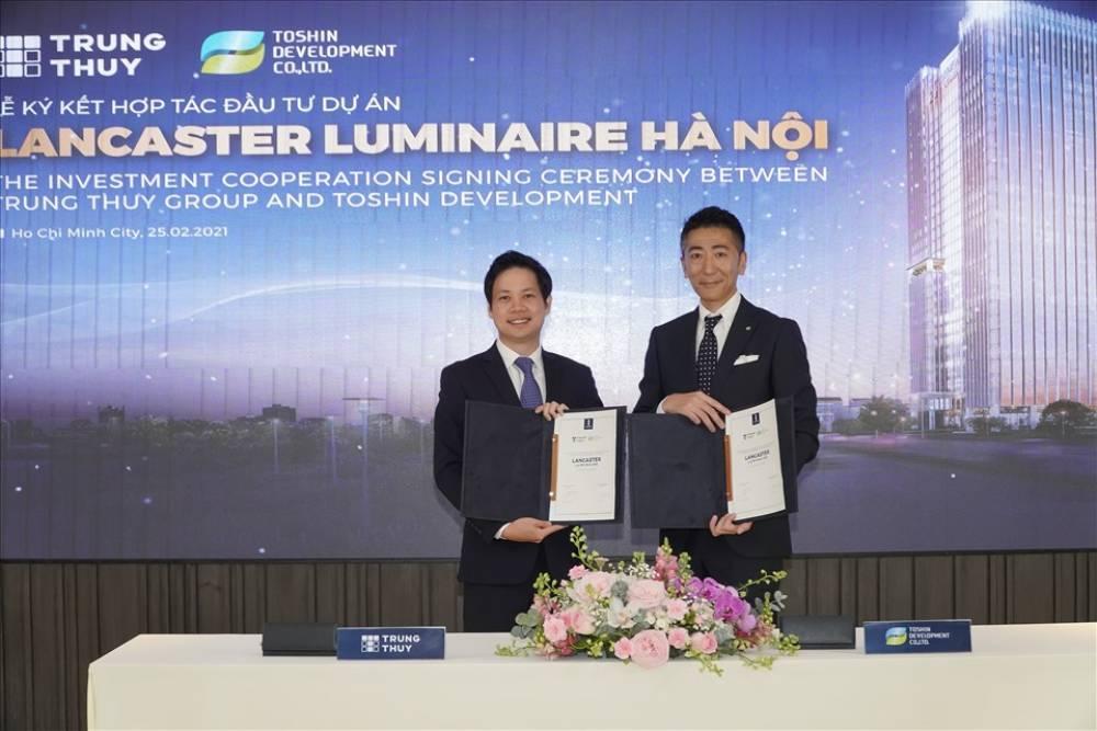 Tập đoàn Trung Thủy hợp tác Takashimaya đầu tư Dự án Lancaster Luminaire